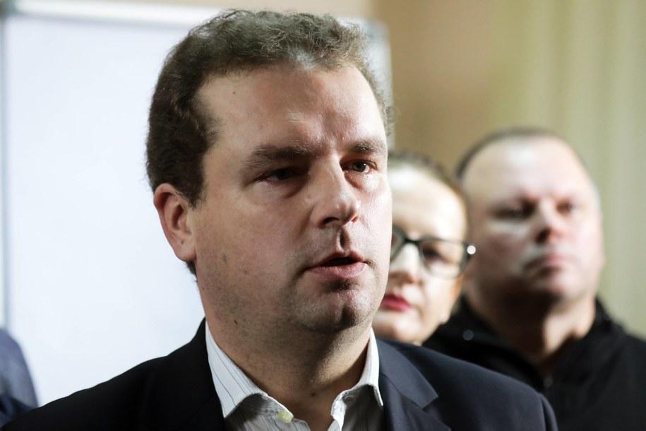 Poseł Jacek Wilk /Tomasz Gzell   /PAP