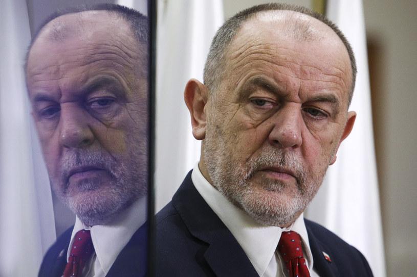 Poseł Jan Mosiński /Andrzej Hulimka  /Agencja FORUM