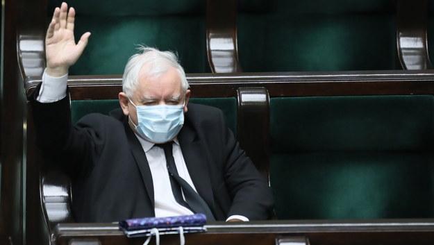 Poseł Jarosław Kaczyński / Leszek Szymański    /PAP