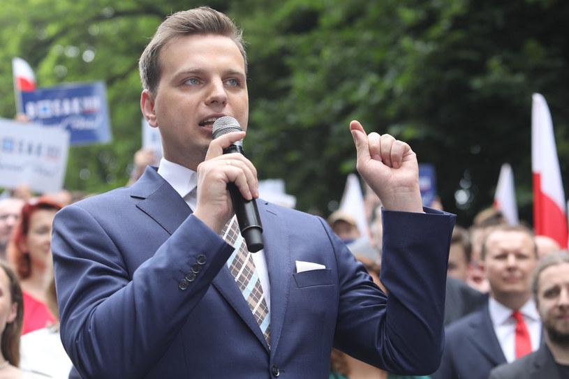 Poseł Konfederacji Jakub Kulesza /Fot Tomasz Jastrzebowski /Reporter