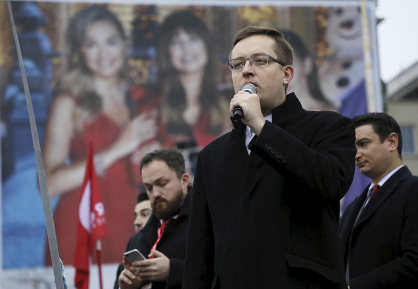 Posel Konfederacji Robert Winnicki /Jakub Kaminskii /East News