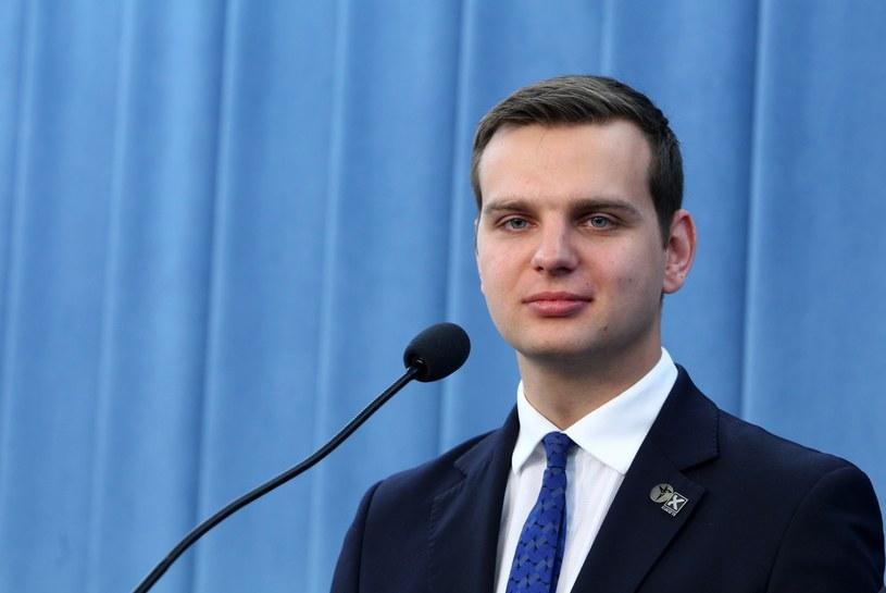 Poseł Kukiz'15 Jakub Kulesza /Stanisław Kowalczuk /East News