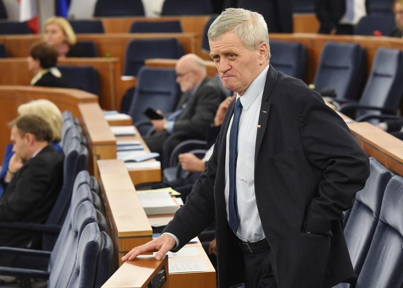 """Poseł Kukiz'15 twierdzi, że materiał dowodowy ws. senatora Koguta jest """"porażający""""; Na zdj. Stanisław Kogut /Radek Pietruszka /PAP"""
