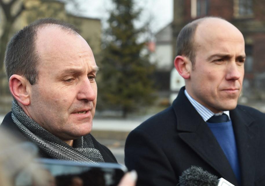 Poseł Nowoczesnej Marek Sowa (L) i poseł PO, były minister sprawiedliwości Borys Budka (P) /Jacek Bednarczyk /PAP