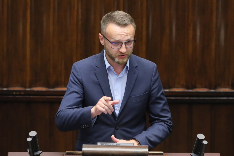 Poseł Paweł Szramka /Paweł Supernak /PAP
