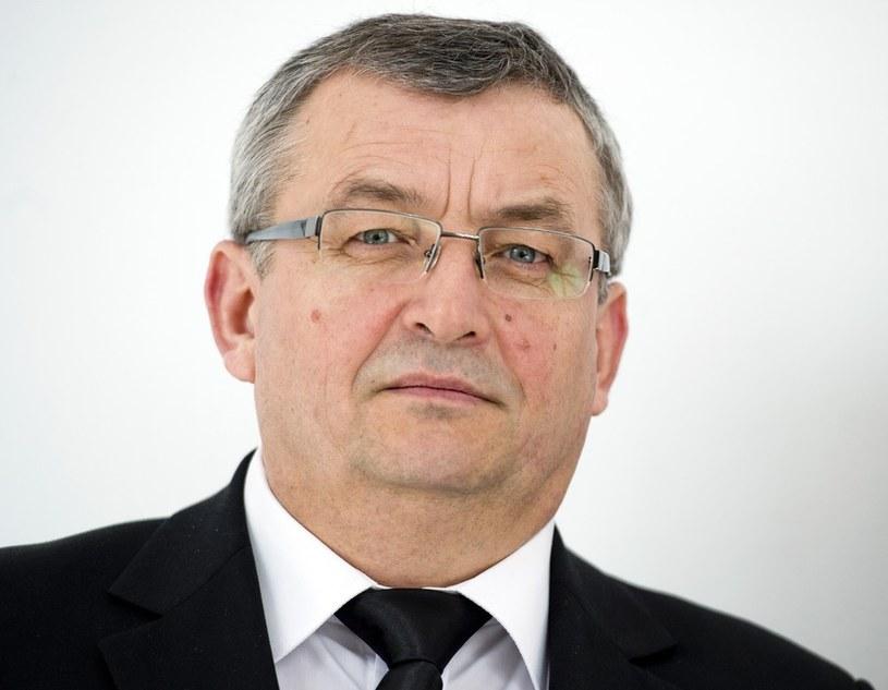 Poseł  PiS Andrzej Adamczyk apeluje do premier /Piotr Tracz /Reporter