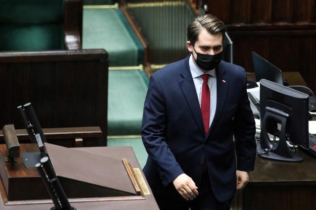 Poseł PiS Daniel Milewski / Leszek Szymański    /PAP