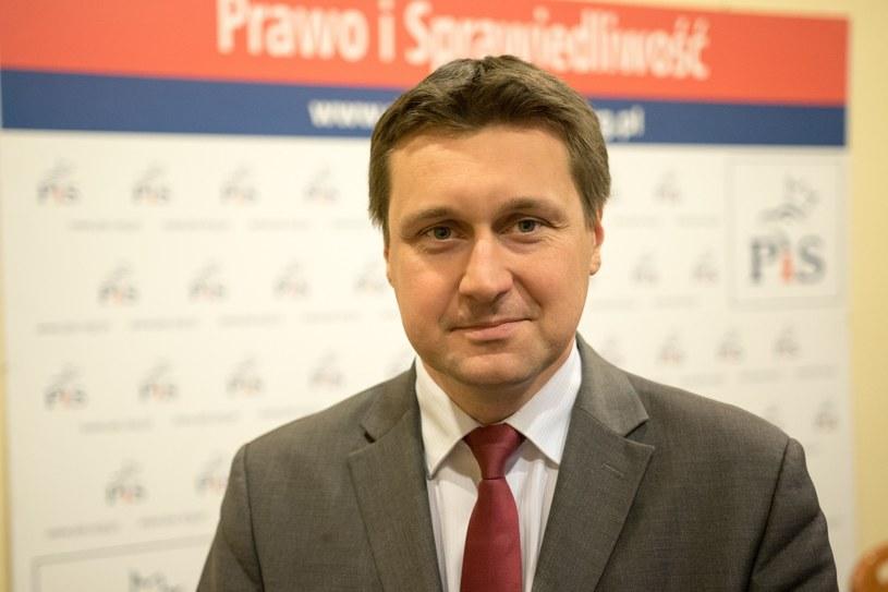 Poseł PiS Łukasz Zbonikowski /Tomasz Kwasek /East News