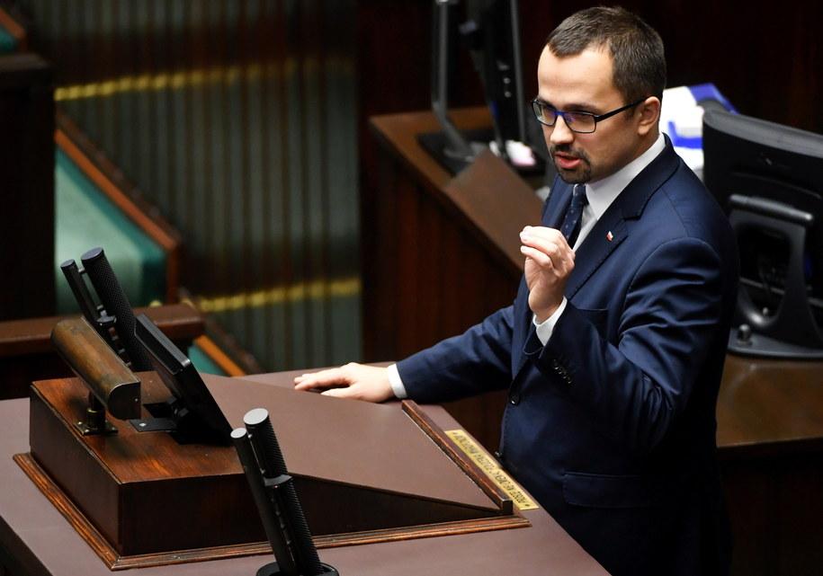 Poseł PiS Marcin Horała /Barłomiej Zborowski /PAP