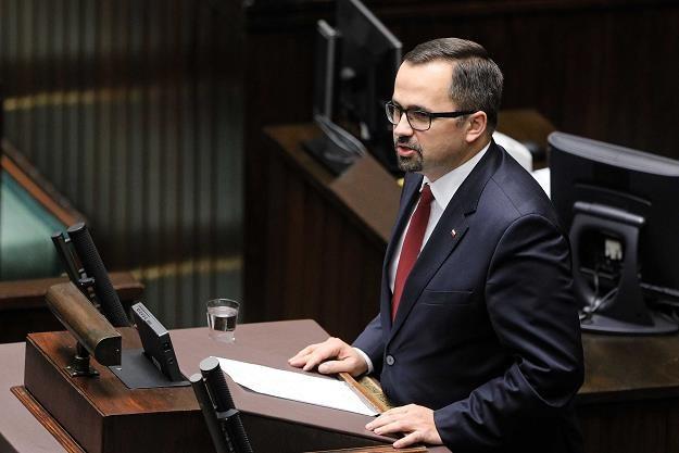 Poseł PiS Marcin Horała /PAP