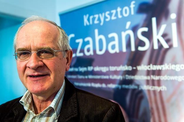 Poseł PiS, sekretarz stanu w Ministerstwie Kultury i Dziedzictwa Narodowego Krzysztof Czabański /PAP