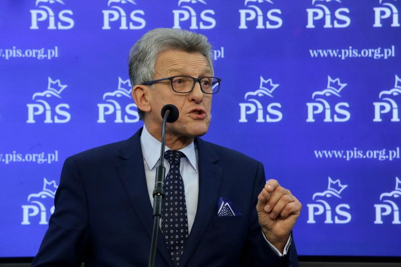 Poseł PiS Stanisław Piotrowicz /Tomasz Gzell /PAP