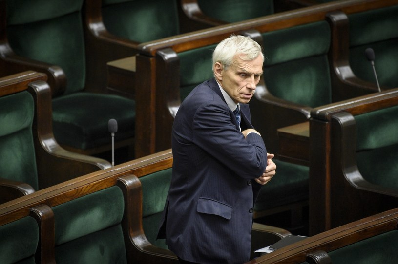 Poseł PO Marcin Święcicki /Jacek Dominski/REPORTER /Reporter