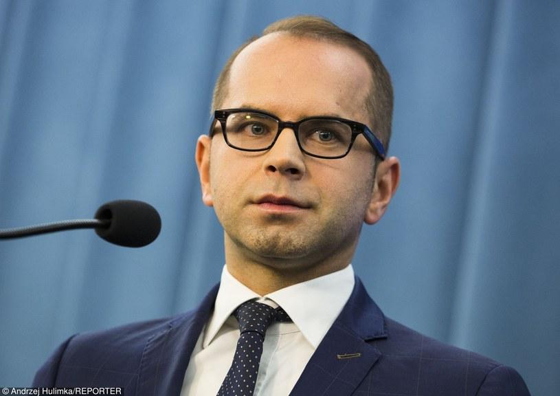 Poseł PO Michał Szczerba /Andrzej Hulimka/Reporter /East News