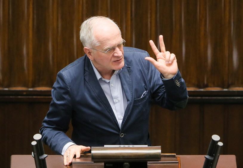 Poseł Prawa i Sprawiedliwości, wiceminister kultury Krzysztof Czabański /Paweł Supernak /PAP