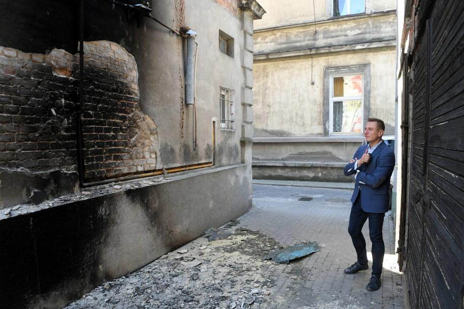 Poseł przekonuje, że ktoś usiłował go zabić /Tytus Żmijewski /PAP