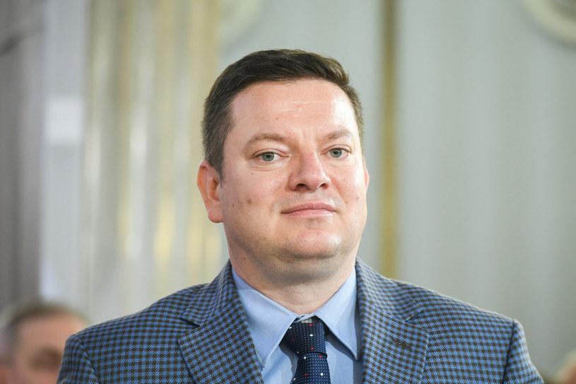 Poseł Przemysław Koperski w październiku 2019 roku podczas odebrania zaświadczenia o wyborze na posła / Jacek Dominski /REPORTER /East News