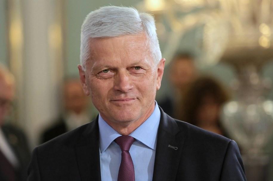 Poseł PSL Andrzej Grzyb / Leszek Szymański    /PAP