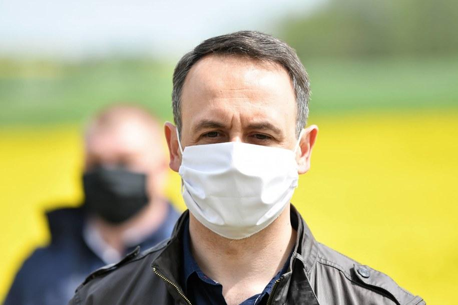 Poseł PSL Dariusz Klimczak /Grzegorz Michałowski   /PAP