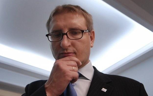Poseł Stanisław Pięta /Donat Brykczyński /Reporter