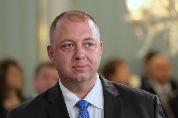 Poseł Wojciech Kossakowski / Leszek Szymański    /PAP