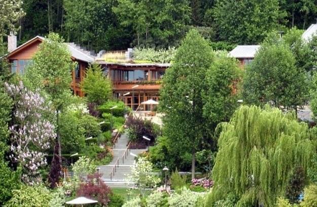 Posiadłość Billa Gatesa, Xanadu, widziana z zewnątrz /materiały prasowe