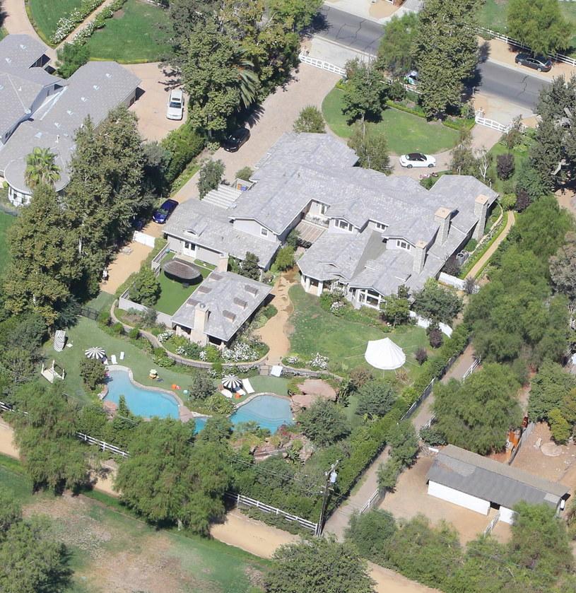 Posiadłość Jolie /Juliano/X17online.com /Agencja FORUM