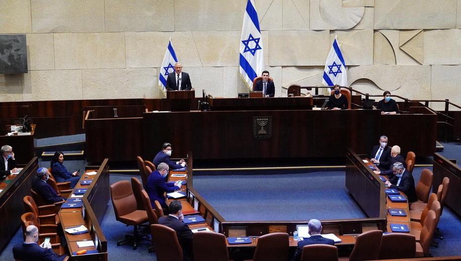 Posiedzenie izraelskiego rządu /PAP/EPA/HANDOUT HANDOUT /PAP/EPA