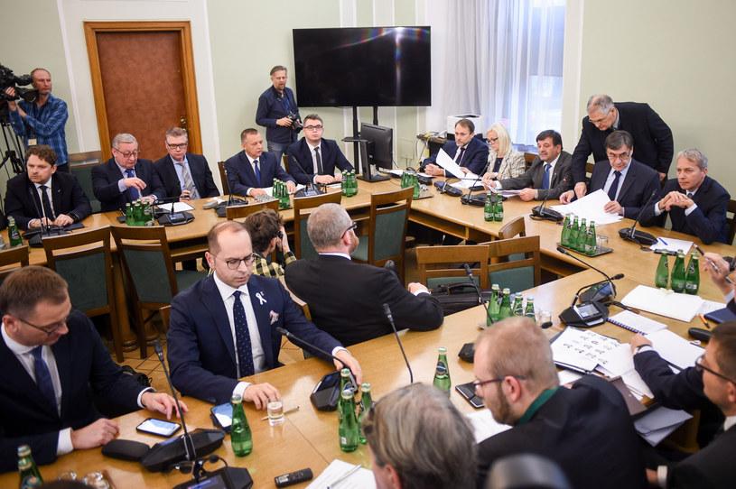 Posiedzenie komisji ds. kontroli państwowej z udziałem Mariana Banasia /Reporter