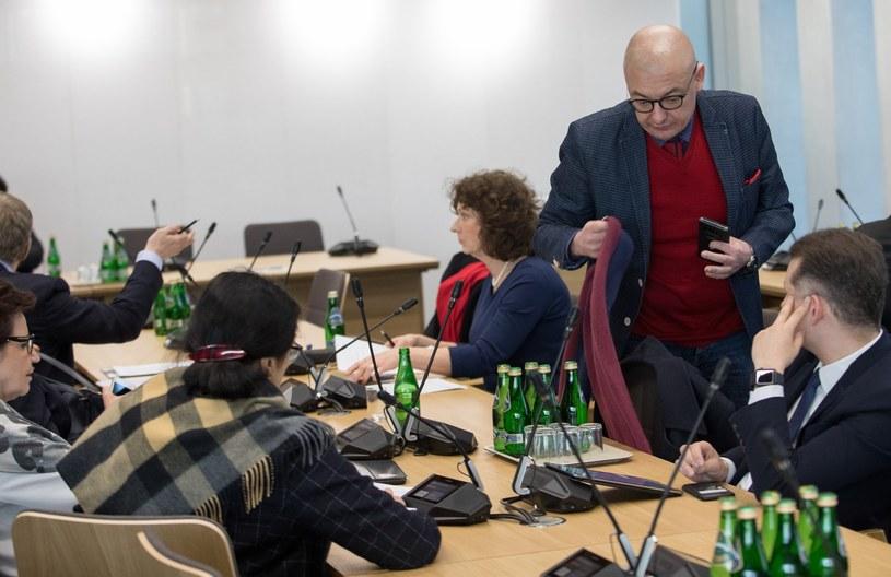 Posiedzenie Komisji Kultury i Środków Przekazu /Fot Tomasz Jastrzebowski /Reporter