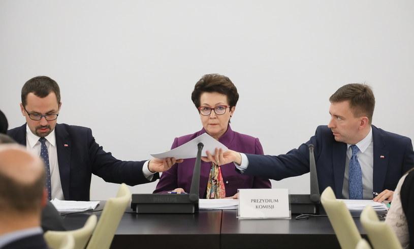 Posiedzenie komisji nadzwyczajnej /Paweł Supernak /PAP