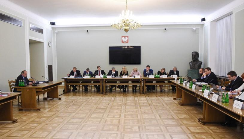 Posiedzenie komisji śledczej ds. Amber Gold /Radek Pietruszka /PAP
