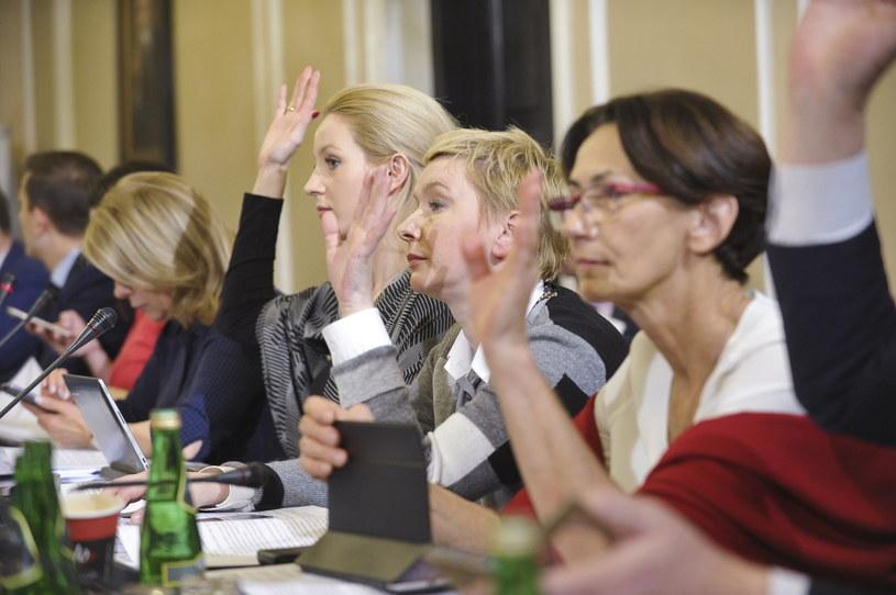 Posiedzenie komisji sprawiedliwości i praw człowieka, 29 bm. w Sejmie. Komisja kontynuuje prace nad prezydenckim projektem ustawy o Sądzie Najwyższym /Marcin Obara /PAP