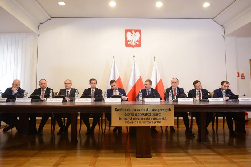 Posiedzenie komisji weryfikacyjnej /Jakub Kamiński   /PAP