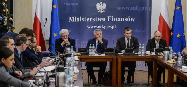 Posiedzenie Komitetu Stabilności Finansowej /Jakub Kamiński   /PAP