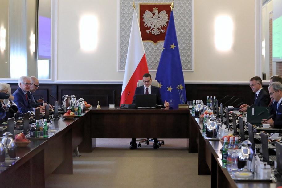 Posiedzenie obecnego rządu / Tomasz Gzell    /PAP