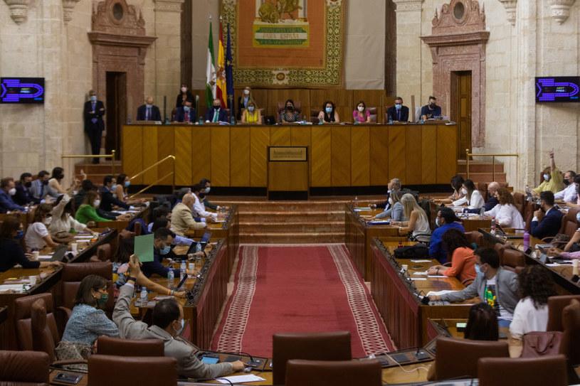 Posiedzenie parlamentu Andaluzji /Europa Press News / Contributor /Getty Images