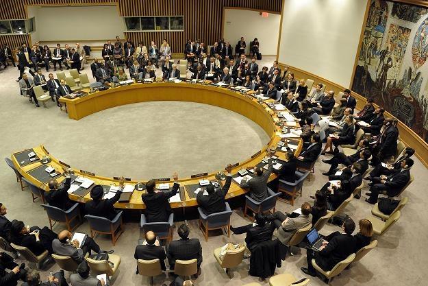 Posiedzenie Rady Bezpieczeństwa ONZ /AFP