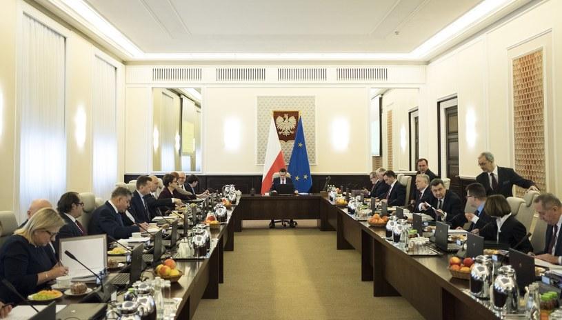 Posiedzenie Rady Ministrów /Andrzej Hulimka  /Reporter
