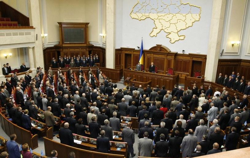 Posiedzenie Rady Najwyższej Ukrainy /VITALY KORZHUKOV /East News