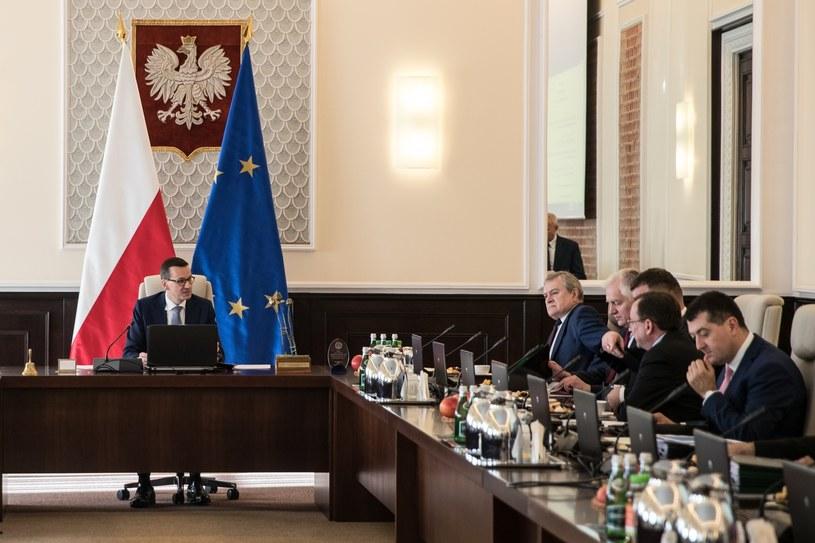 Posiedzenie rządu Mateusza Morawieckiego /Aleksandra Szmigiel /Reporter