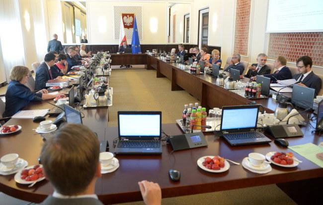 Posiedzenie rządu /PAP/Radek Pietruszka    /PAP