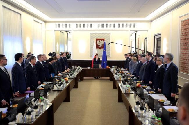 Posiedzenie rządu /Leszek Szymański /PAP