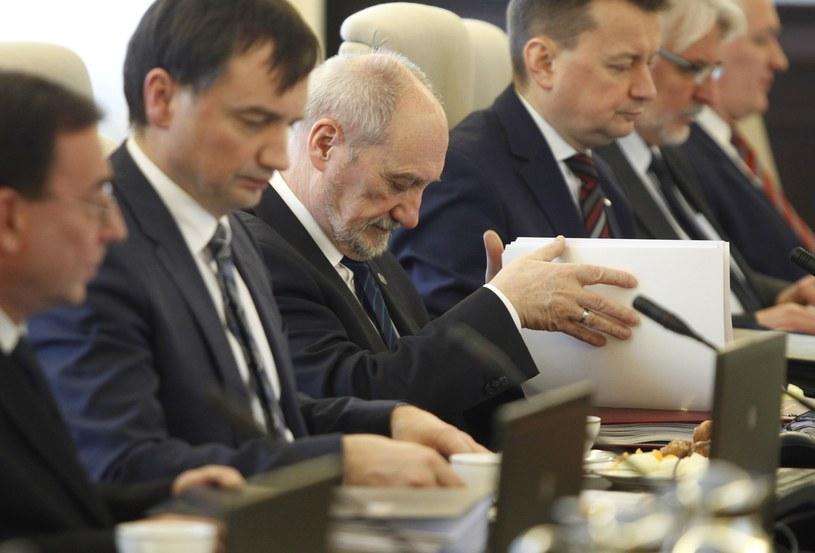 Posiedzenie rządu /Stefan Maszewski /Reporter