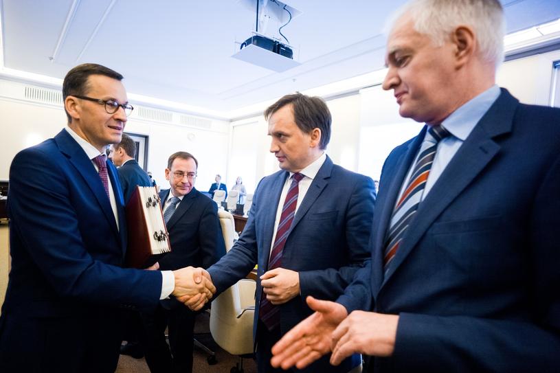 Posiedzenie rządu /fot. Andrzej Iwanczuk /Reporter