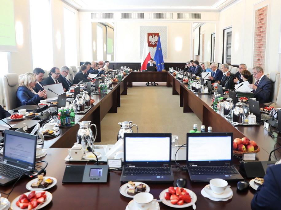 Posiedzenie rządu /Tomasz Gzell   /PAP