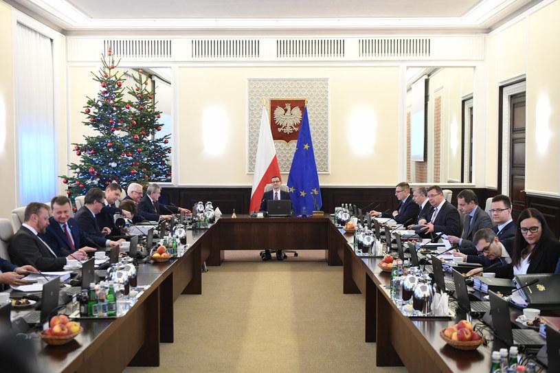 Posiedzenie rządu /Rafal Oleksiewicz/REPORTER /Reporter