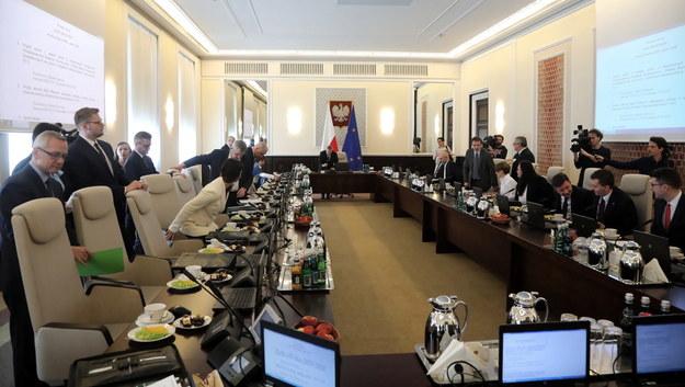 Posiedzenie rządu /Wojciech Olkuśnik /PAP