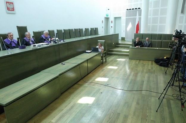Posiedzenie Sądu Najwyższego /Tomasz Gzell   /PAP