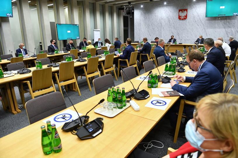 Posiedzenie sejmowej Komisji ds. Kontroli Państwowej /PAP/Piotr Nowak /PAP